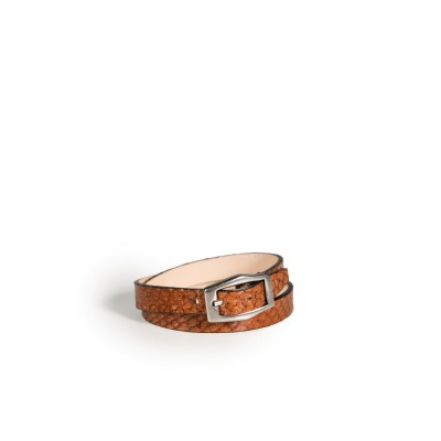 Bracelet Double Tour Camel
