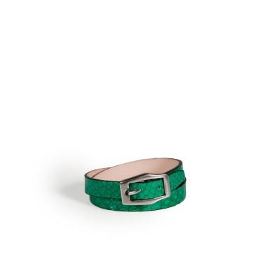 Bracelet Double Tour Vert