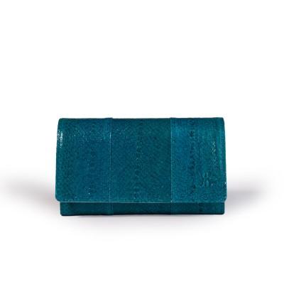 Grand portefeuille Bleu Océan