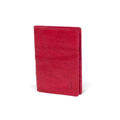 Porte passeport Fuschia